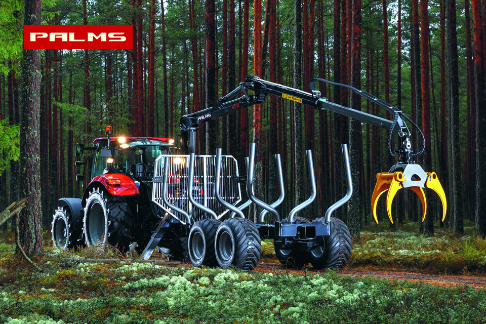Palms Forest Log Loaders and Log Trailers